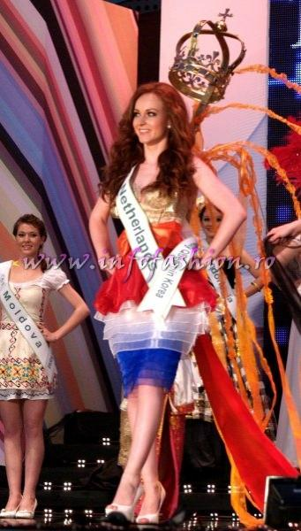 Netherlands Dian Biemans for Miss Global Beauty Queen in South Korea 2011