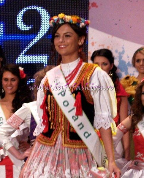 Poland Kinga Rojek for Miss Global Beauty Queen in South Korea 2011
