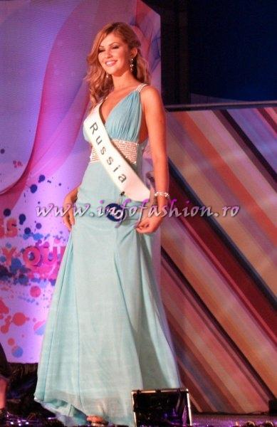 Russia Natalia Chirkova 3rd Runner-up at Miss Global Beauty Queen in South Korea 2011