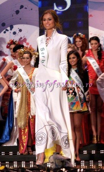 Serbia_2011 Jelena Vucic in TOP 15 at Miss Global Beauty Queen in South Korea