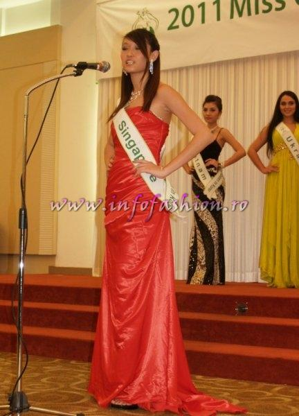 Singapore Sharin Keong for Miss Global Beauty Queen in South Korea 2011