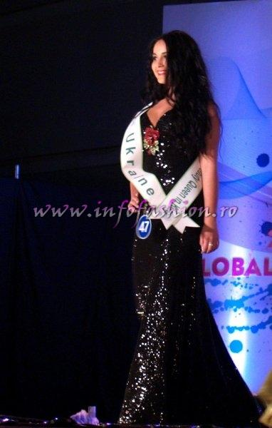 Ukraine Tatyana Grabovych at Miss Global Beauty Queen in South Korea 2011
