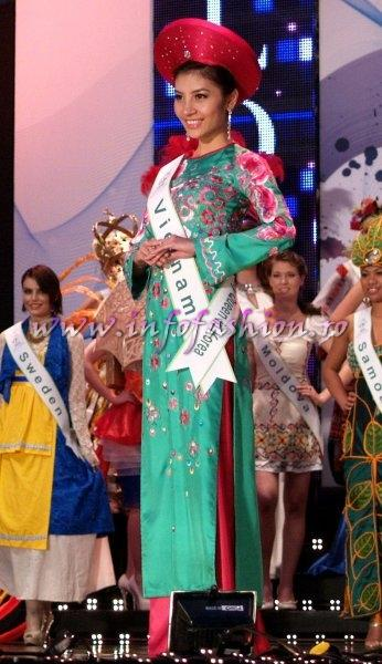 Vietnam Phan Thi Huong Giang in TOP 15, Miss Internet Popularity at Miss Global Beauty Queen in South Korea 2011