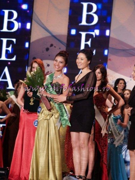 Vietnam_2011 Phan Thi Huong Giang in TOP 15, Miss Internet Popularity at Miss Global Beauty Queen in South Korea