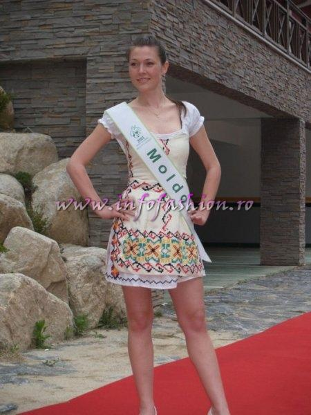 Moldova Rep Alexandrina Strajescu la Miss Global Beauty Queen in South Korea 2011