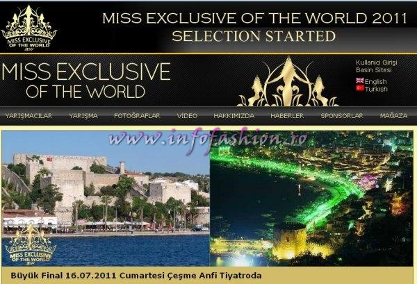 MISS EXCLUSIVE OF THE WORLD Showcasing the beauty and culture of Turkey endeavour in the World
