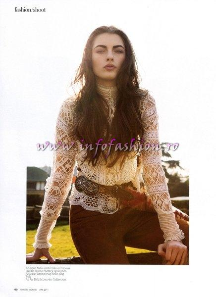 Simona_Bitiusca 2011 Editorial Emirates Women by One Models
