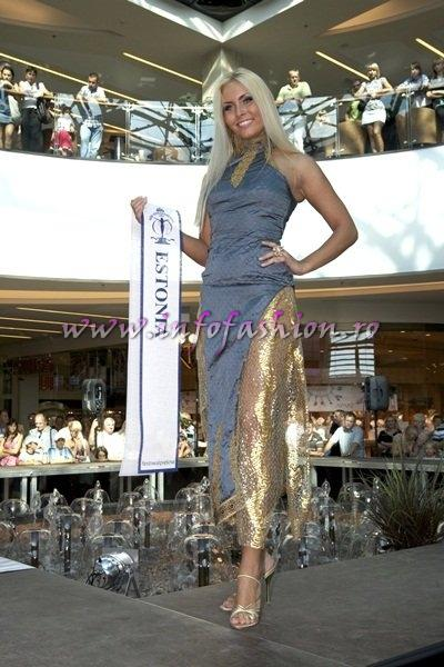 Estonia_2011 Eteri Libe for Miss Exclusive of the World in Turkey