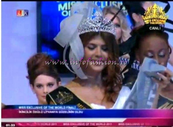 Turkey_2011 Acelya Kartal, 2nd runner up at Miss Exclusive of the World in Turkey