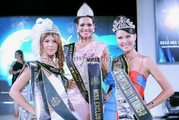 Peru_2011 Claudia Carrasco WINNER of Miss Exclusive of the World in Turkey