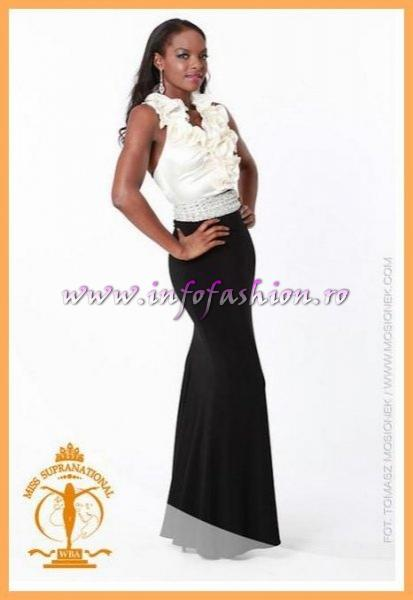 Suriname_2011 Sharifa Henar for Miss Supranational in Poland
