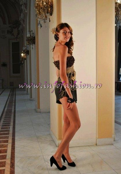 IVAN ALINA la Miss World Romania 2011 Finala nationala /Cazino Sinaia InfoFashion Designer Cristina Craciun