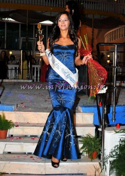 Alexandra Barsan Top Moel of the World Romania in cadrul Miss World Romania 2011 la Complexul Turistic `Cornul Vanatorului` Pitesti