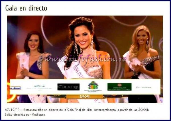 TOP 5 Continents: Europa- Spain- Gloria Martinez and 1st runner up