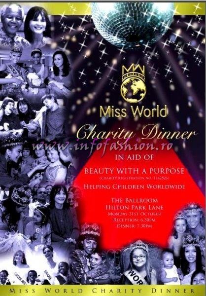 2011_Miss World in England /For Romania- Alexandra Stanescu Final 6th November at  Earls Court and Miss World Charity Dinner 31 October