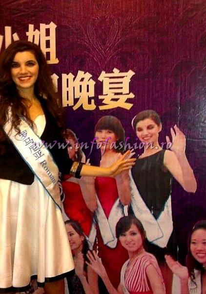CRISTINA DAVID, WINNER of Miss All Nations 2011 in Nanjing, China, prin Platinum Agency Infofashion
