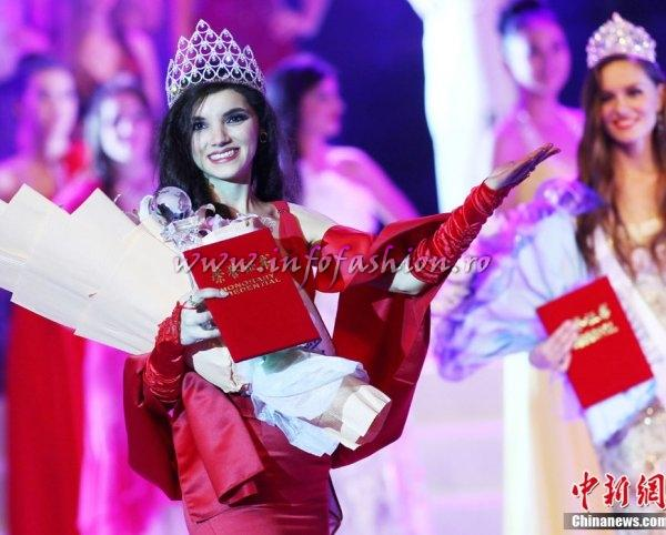 Cristina_David 2011 Romania WINNER of Miss All Nations in China, Nanjing