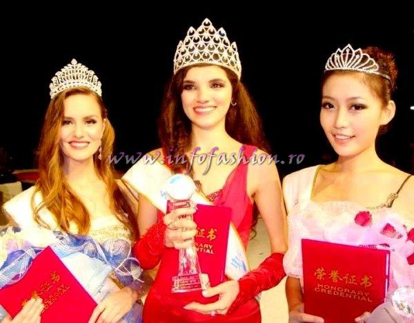 Cristina_David 2011 WINNER of Miss All Nations in China, Nanjing /for Romania org. Infofashion Platinum Ag