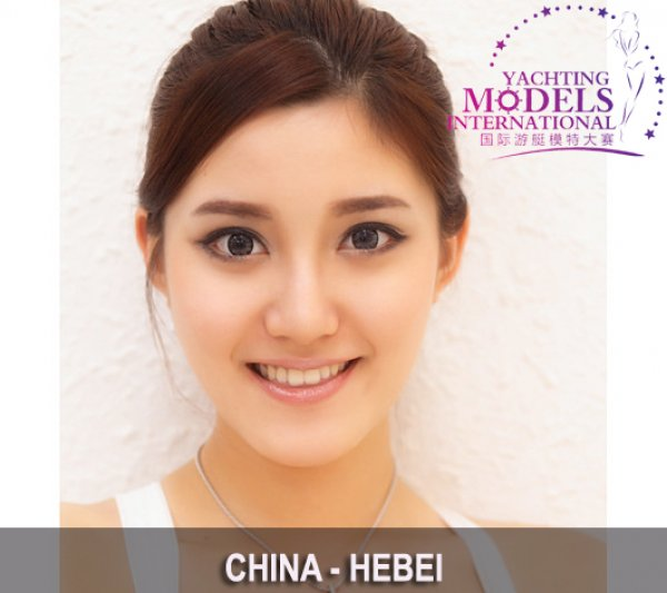 China Zhang Tian Yu, 2nd ru at Miss Yacht Model International