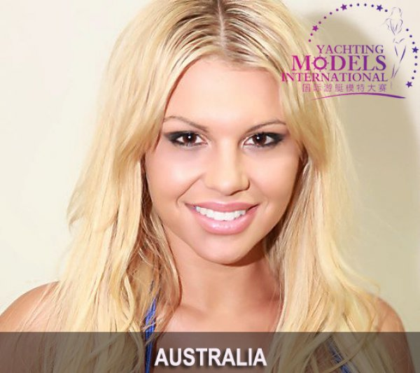 Australia_2011 Kirralee Morris at Miss Yacht Model International in China