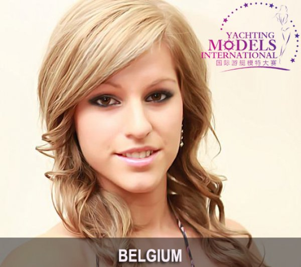 Belgium_2011 Carolien Gielen at Miss Yacht Model International in China