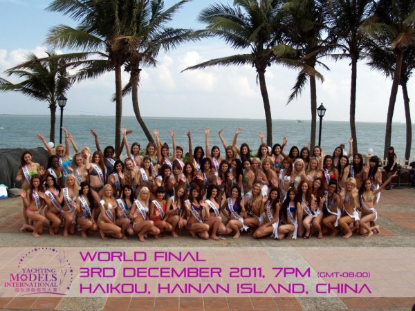 Miss Yacht Models International 2011 World Final, 3rd December 2011, 7pm (GMT + 08:00)