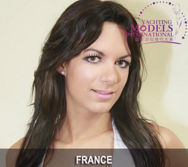 France_2011 Lorene Schneider at Miss Yacht Model International in China