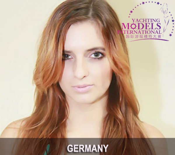 Germany_2011 Martine Wagner at Miss Yacht Model International in China