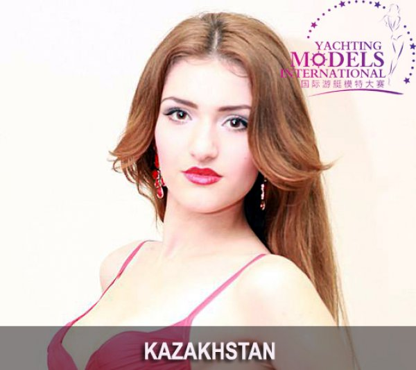 Kazakhstan_2011 Diana Kadiyeva at Miss Yacht Model International in China