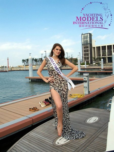 Kyrgyzstan_2011 Marina Kliug at Miss Yacht Model International in China
