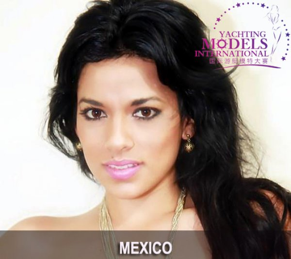 Mexico_2011 Iris Paola Perez Alvarez at Miss Yacht Model International in China