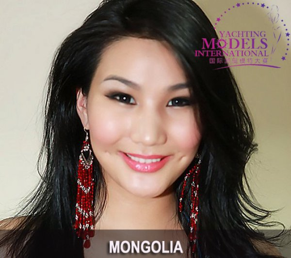 Mongolia_2011 Selenge Enkhchuluun at Miss Yacht Model International in China