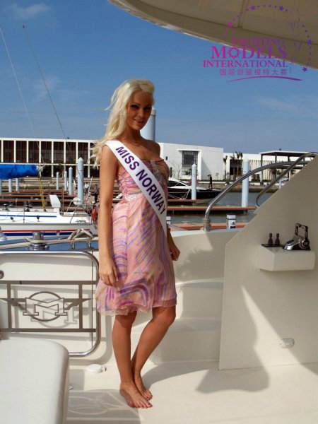 Norway_2011 Christina Celeste Ruste Hinna at Miss Yacht Model International in China