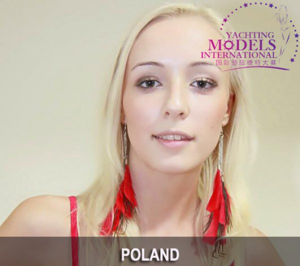 Poland_2011 Ewelina Radgowska at Miss Yacht Model International in China