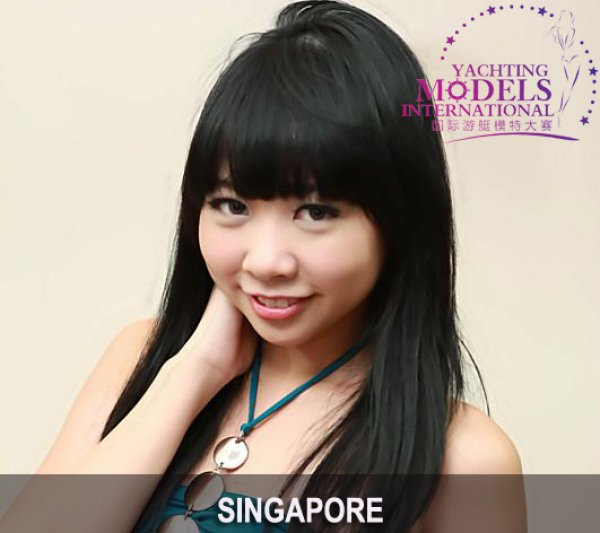 Singapore_2011 Sherlyn Tan Shi Ling at Miss Yacht Model International in China