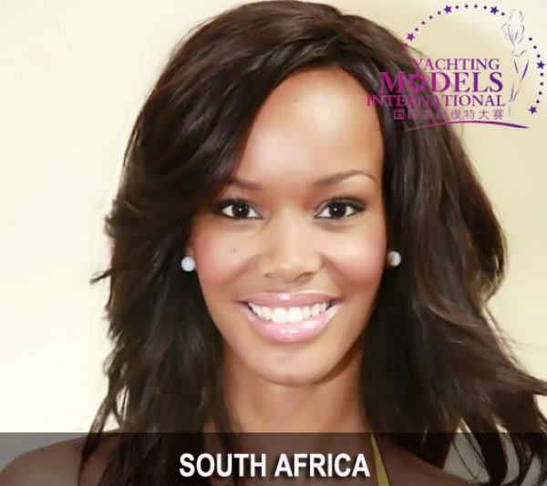 South_Africa_2011 Dorah Mtetwa at Miss Yacht Model International in China