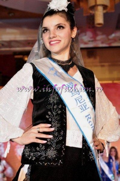 Romania CRISTINA DAVID, Castigatoarea Titlului Miss All Nations in China 2011, Nanjing