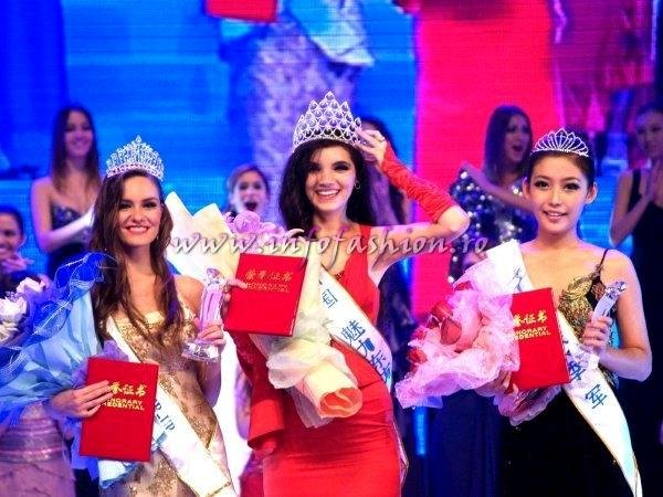 Miss_All_Nations 2011 Winner Cristina David, Castigatoarea Titlului in China, finalista MW Romania