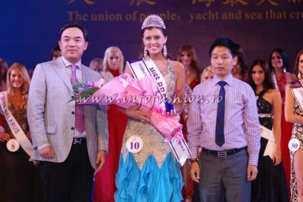 Brazil Kellin Schmidt, 1st runner up of Miss Yacht Model International 2011 in China