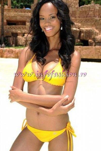 South Africa 2011 Dorah Mtetwa at Miss Yacht Model International in China