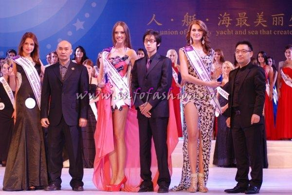Greece Syrii Melpomeni at Miss Yacht Model International in China 2011