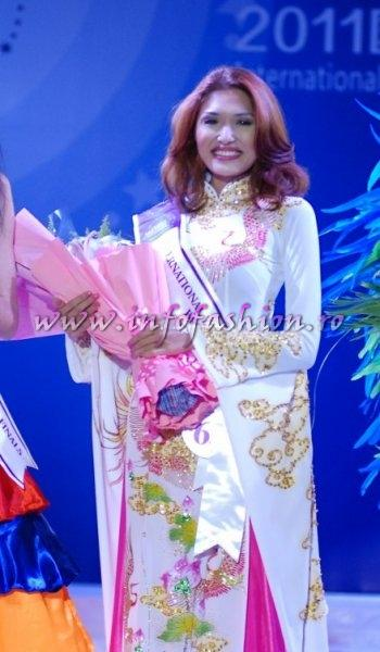 Vietnam_2011 Tran Ngoc Diem Thuyen- Best National Costume at Miss Yacht Model International in China