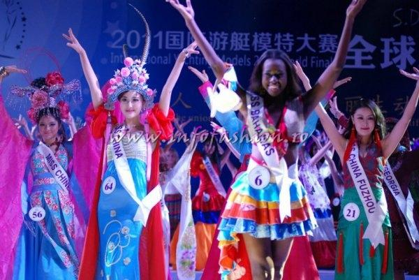 Bahamas_2011 Peandrea Knowles at Miss Yacht Model International in China