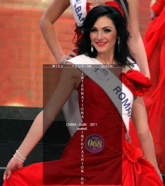 Romina_Dragoi 2011 la Miss Tourism Queen International in China, tinute Diolastilis, Vietato, Salon Portre- Infofashion.RO
