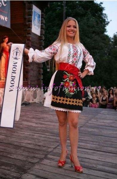 Moldova Rep. Ana Velesco in TOP 15 at Miss Supranational 2009 in Poland (Aqua Models CSS Galati prin Platinum Ag. infoFashion /Click mai sus pe View All Images