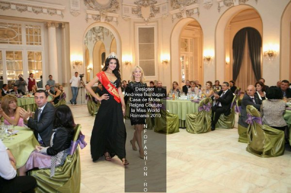 Platinum_2010 Ag InfoFashion Designeri Andreea Buzdugan la Miss World Romania