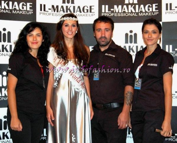 Make_up_Alex Radulescu si IL MAKIAGE la Miss World Romania 2010 org. Infofashion Platinum Ag.