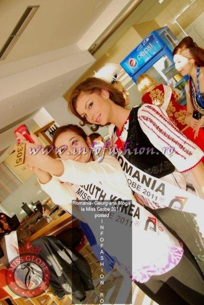 Romania2011_Georgiana MOGA, titlul Miss Disco Queen la Miss Globe 38th ed.