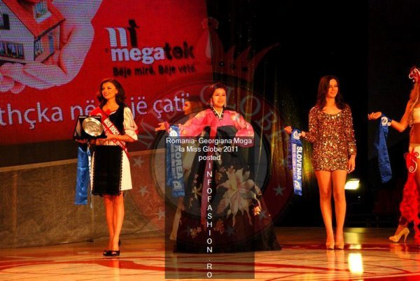 Romania 2011 Georgiana MOGA, titlul Miss Disco Queen la Miss Globe 38th ed.