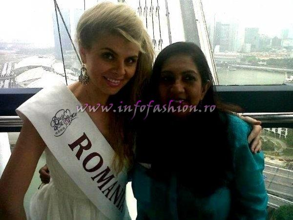 Alina Clapa, Romania la Bride of the World 2012 Fiesta in Singapore